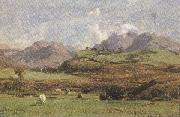 david farquharson,r.a.,a.r.s.a.,r.s.w Glenorchy's Prond Mountain (mk37) oil painting picture wholesale